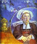 La Belle Angele by  Paul Gauguin (Painting ID: GA-0257-KA)
