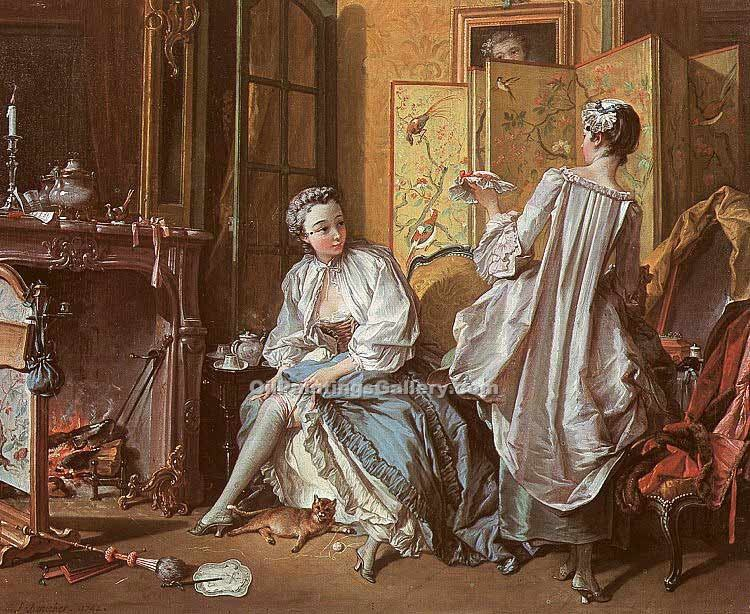 """La Toilette"" by  Francois Boucher"