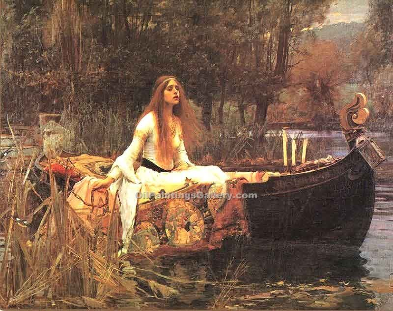 """Lady of Shalott"" by  John William Waterhouse"