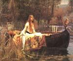 Lady of Shalott by  John William Waterhouse (Painting ID: CL-4189-KA)