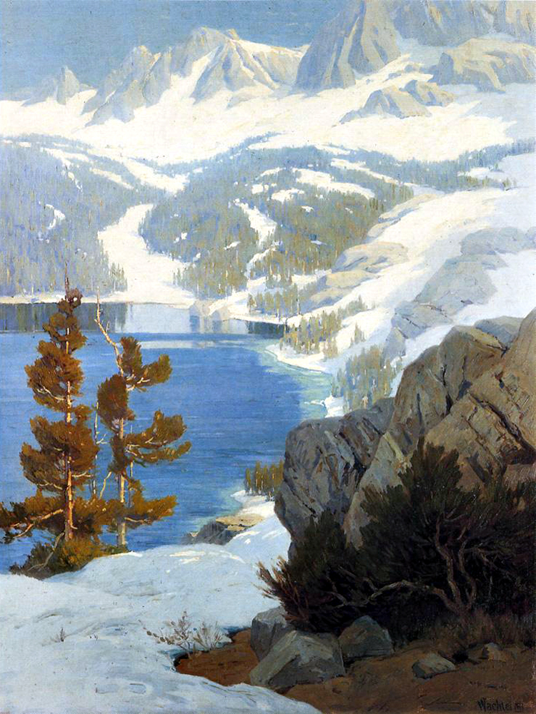 """Lake George, Sierra Nevada"" by  Elmer Wachtel"