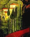 Landscape 01 by  Amedeo Modigliani (Painting ID: LA-1001-KA)
