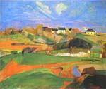 Landscape 15 by  Paul Gauguin (Painting ID: GA-0215-KA)