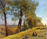 Landscape, Rockland County, California by  Albert Bierstadt (Painting ID: LA-3363-KA)