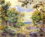 Landscape at Beaulieu by  Pierre Auguste Renoir (Painting ID: CL-4606-KA)
