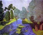 Landscape in Normandy by  Felix Vallotton (Painting ID: LA-0962-KA)