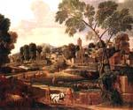 Landscape with the Funeral of Phocion by  Nicolas Poussin (Painting ID: CM-1428-KA)