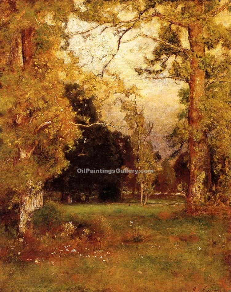 """Late Afternoon"" by  George Inness"