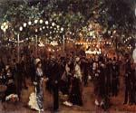 Le Bal Mabile Paris by  Jean Beraud (Painting ID: CI-0908-KA)