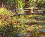 Le Bassin aux nympheas, harmonie rose by  Claude Monet (Painting ID: MO-1013-KA)