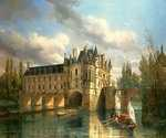 Le Chateau by  Pierre Justin Ouvrie (Painting ID: LA-0001-KA)