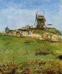 Le Moulin de la Gallette 78 by  Vincent Van Gogh (Painting ID: VG-0178-KA)