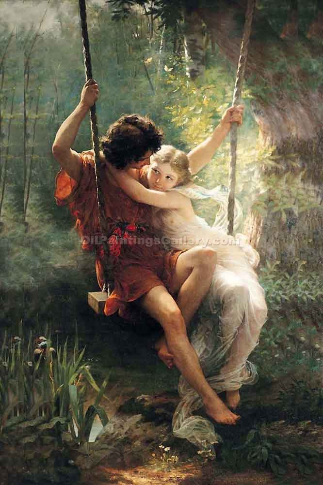 """Le Printemps"" by  Pierre Auguste Cot"
