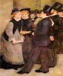 Leaving The Conservatoire by  Pierre Auguste Renoir (Painting ID: CL-4449-KA)
