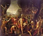 Leonidas at Thermopylae by  Jacques Louis David (Painting ID: CL-4174-KA)