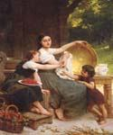 Les confitures by  Emile Munier (Painting ID: EI-0057-KA)