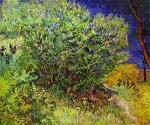 Lilac Bush by  Vincent Van Gogh (Painting ID: VG-0218-KA)