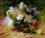 Lilacs 01 by  Georges Jeannin (Painting ID: SL-0001-KA)