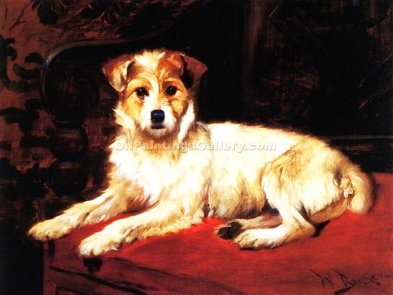 """Little Pup"" by  Wright Barker"