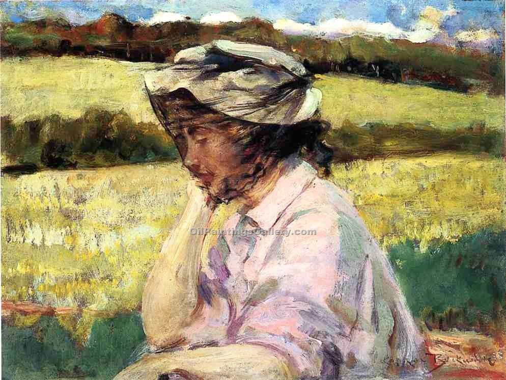 """Lost in Thought"" by  James Carroll Beckwith"
