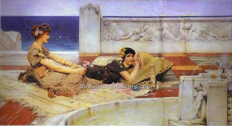 """Love 11"" by  Sir Lawrence Alma Tadema"