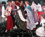 Love 12 by  John Byam Liston Shaw (Painting ID: ED-0712-KA)