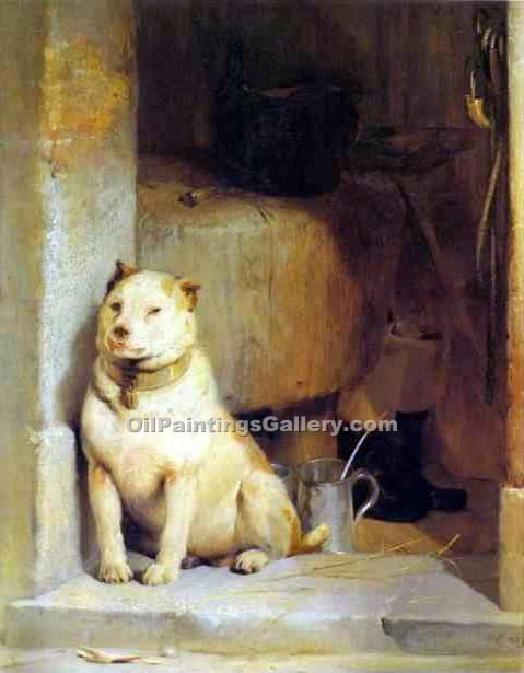 """Low Life"" by  Sir Edwin Henry Landseer"