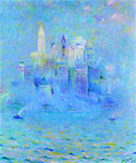 Lower Manhattan by Theodore Earl Butler (Painting ID: CI-0039-KA)