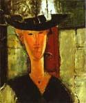 Madam Pompadur by  Amedeo Modigliani (Painting ID: EI-2025-KA)