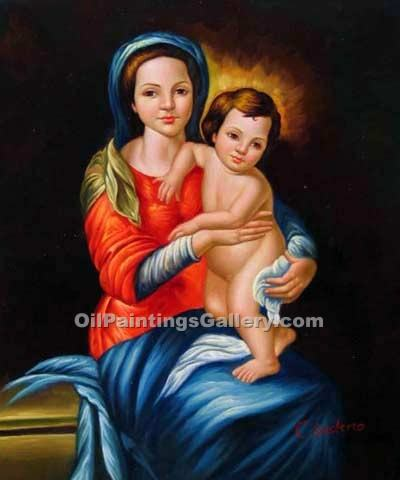 """Madonna and Child 95"""