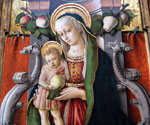Madonna and Child with Fruit by  Carlo Crivelli (Painting ID: DA-0267-KA)