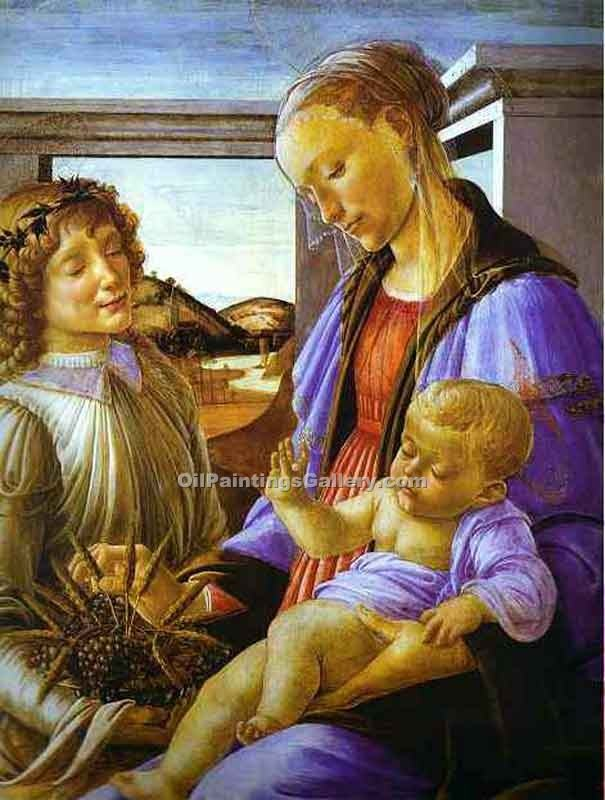 """Madonna of the Eucharist"" by  Sandro Botticelli"