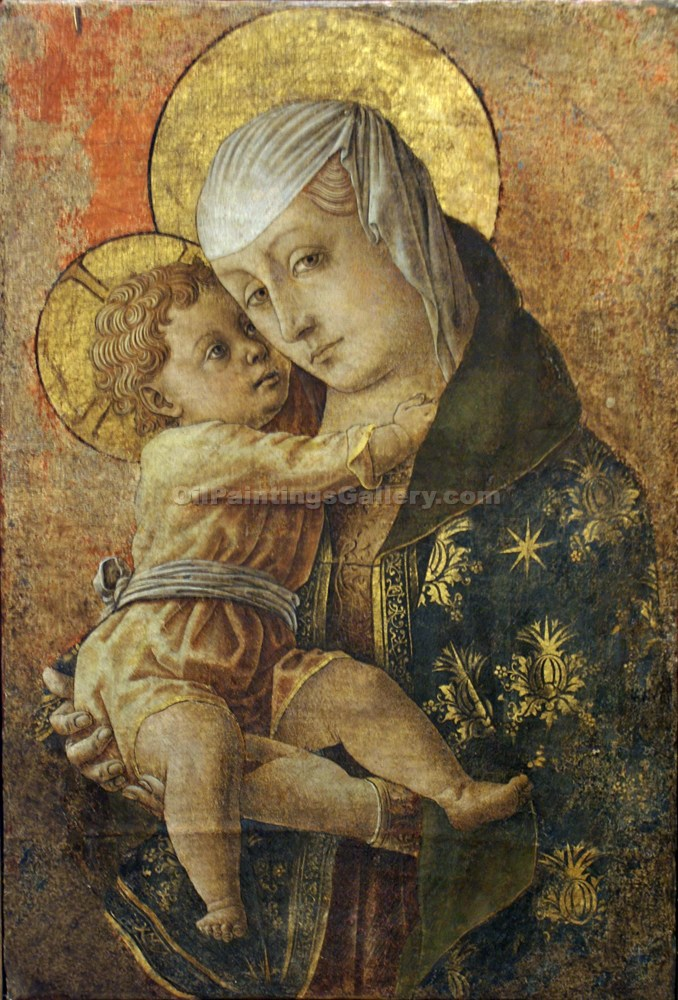 """Madonna with Child"" by  Carlo Crivelli"