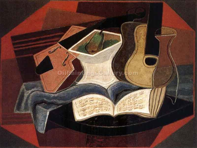 """Maeble Table"" by  Juan Gris"