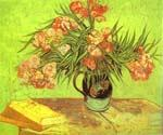 Majolica Jar with Branches of Oleander by  Vincent Van Gogh (Painting ID: VG-0416-KA)