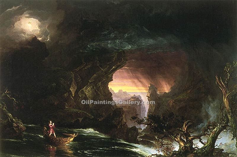 """Manhood"" by  Thomas Cole"