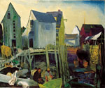 Mantinicus by  George Bellows (Painting ID: LA-3562-KA)