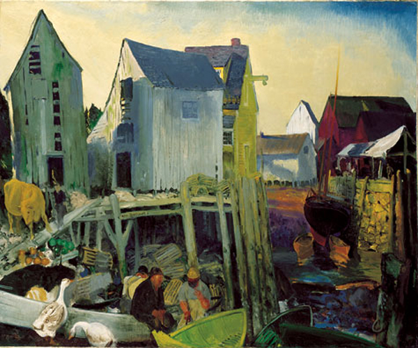"""Mantinicus"" by  George Bellows"