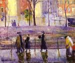 March Day by  William Glackens (Painting ID: CL-3200-KA)