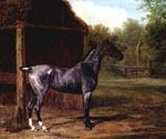 Mare in a Landscape by  Jacques Laurent Agasse (Painting ID: AN-2077-KA)