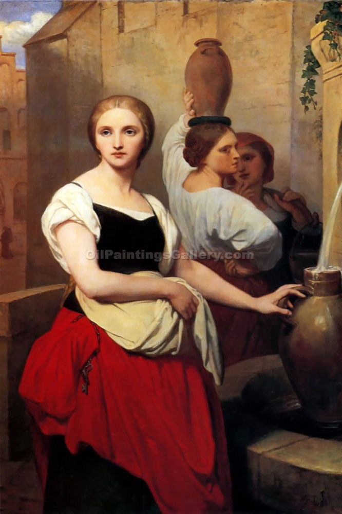 """Margaret at the Fountain"" by  Ary Scheffer"