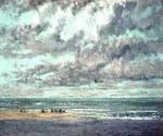 Marine Les Equilleurs by  Gustave Courbet (Painting ID: LA-1534-KA)