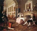 Marriage a la Mode by  William Hogarth (Painting ID: CM-3062-KA)