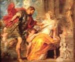 Mars and Rhea Silvia by  Peter Paul Rubens (Painting ID: CM-1480-KA)
