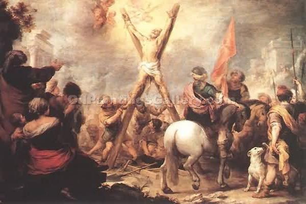 """Martyrdom of Andrew"" by  Bartolome Esteban Murillo"