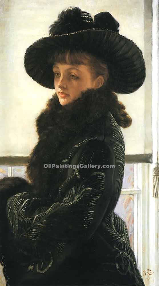 Mavourneen by James Tissot | Art Shop Online - Oil Paintings Gallery