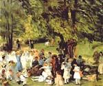 May Day in Central Park by  William Glackens (Painting ID: CL-3208-KA)