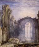 Melrose Abbey by  Joseph Mallord William Turner (Painting ID: CI-1443-KA)