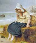 Message from the Sea by  John Everett Millais (Painting ID: CM-0714-KA)