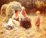 Midday Rest by  Frederick Morgan (Painting ID: CL-4060-KA)